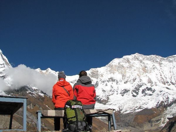 (Photo:) Annapurna Base Camp -4135 m